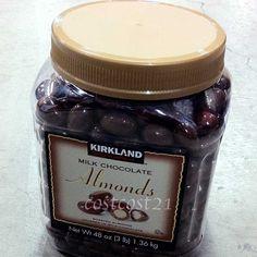 KS ミルクチョコレートアーモンド 1.36kg 2,696円