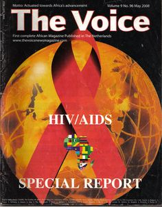 Cover Page for The Voice magazine issue No 96