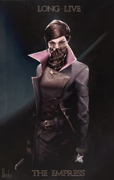 A fan art of Emily from Dishonored 2 I did back in 2016 Game Character, Character Concept, Character Design, Dishonored Emily, Video Game Art, Video Games, Emily Kaldwin, Maron, Adam Lee