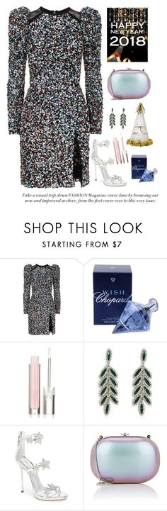 """""""Happy New Year 2018 To You♥"""" by nicolesynth ❤ liked on Polyvore featuring Elie Saab, Chopard, Physicians Formula, Forever 21, Giuseppe Zanotti and Jeffrey Levinson"""