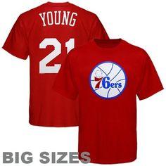 Majestic Philadelphia 76ers Player T-Shirt -  27.95 Big Sizes 8915af3ca