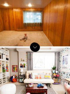 Before & After: A Big Sea of Bright | Design*Sponge