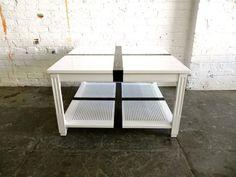 White U0026 Black Cross Coffee Table