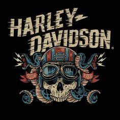 Harley Davidson Images, Harley Davidson Tattoos, Harley Davidson Wallpaper, Harley Davidson Posters, Harley Davidson T Shirts, Haley Davidson, Steve Harley, Motorcycle Logo, Bike Poster