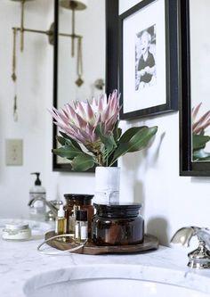 Bathroom Vibes - Nashville Designer Ceri Hoover's Charming Modern Farmhouse - Photos