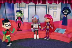 Way-cool marionettes from an episode of Teen Titans Go!