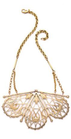 Bing Bang Sacred Geometry Bib Necklace