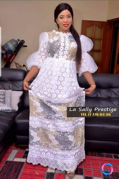 African Lace Dresses, Latest African Fashion Dresses, African Wear, African Attire, White Lace Gown, Elie Saab Couture, African Models, Ethnic Dress, Africa Fashion