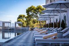 Insider's guide to Croatia's beach clubs - from the chic to camping out Trogir Croatia, Ibiza Clubs, Brown Hotel, Us Beaches, The Chic, Beach Club, Road Trip, Europe, Camping