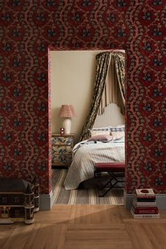 Discover our March 2015 issue on HOUSE - design, food and travel by House & Garden. The prints in this sumptuous room are inspired by old document print fabrics in rich, floral motifs.