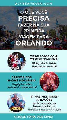 O que voce precisa saber na sua primeira viagem para Orlando Walt Disney Orlando, Miami Orlando, Orlando City, Orlando Vacation, Disney Parks, Disney World Resorts, Florida, Disney Trips, Family Travel