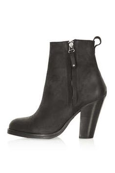 Angel leather boots from Topshop