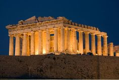 Parthenon  Completed in the middle of the 5th century BCE.   (Photo Credit: Colin Dixon/Arcaid/Corbis)