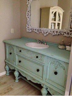 255 best dresser to bathroom vanity images in 2019 antique rh pinterest com