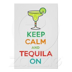 Keep calm & tequila on.Seems so long ago I shared a bottle with you Monek.