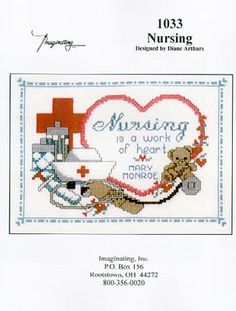 Occupations - Cross Stitch Patterns & Kits - 123Stitch.com