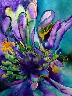 Wild Garden by Zuzana M