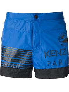 Kenzo 'waves' Swim Shorts - Wok-store - Farfetch.com
