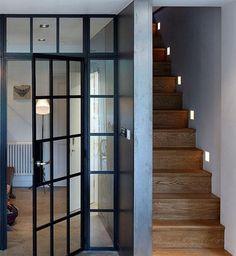 Steel frame door