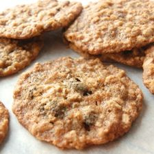 Super-Chewy Oatmeal-Raisin Cookies - If your favorite oatmeal cookies are moist and chewy you'll love this recipe.