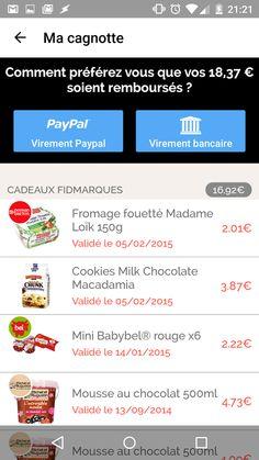 FidMarques - Mes cartes Marque - screenshot
