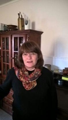 Cristina Pérez. Esposa de Ariel Piazza