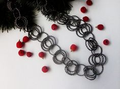 Necklace/Oxide metal necklace/Ring pendant/Christmas by fancywomen, $16.00