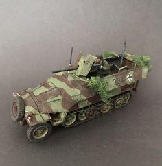 3.7CM PAK SD.KFZ 251//10 HALF-TRACK BOLT ACTION WARLORD GAMES WW2 28mm HANOMAG