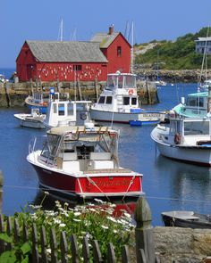 Rockport Harbor by Laura Bailey, via 500px