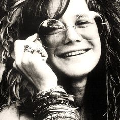 Janis Joplin is somewhere in my energy