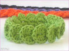 Natas Nest: Krokodil-Armband - Crocodile Stitch Bracelet