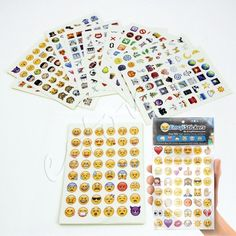 Emoji Sticker Pack 912 Emoji Stickers Most Popular Emojis For Mobile Phone Kids Rooms Home Decor Tablet 19 Sheets/Pack *** Clicking on the image will lead you to find similar product Window Stickers, Wall Stickers, Wall Decals, Keyboard Stickers, Emoji Stickers, Emoji Decorations, Emoji Theme Party, Iphone Instagram, Cute Emoji