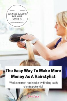 """Have you ever heard the saying """"work smarter, not harder""""? I say this to my team all the time. For sure weekly if not daily. The most successful stylists are not those who cram in 12 clients a day by working 12 hours a day 6 days a week. Those stylists might be making decent money, but they are also tired and are on the fast track to burn out. The most successful stylists are those who make the most of the time they have by maximizing each clients potential."""