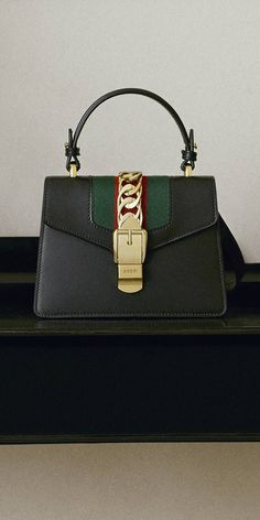 e0230fd1 Sylvie leather mini bag in Hibiscus red leather | Gucci Women's Shoulder  Bags