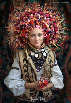Young and unmarried Ukrainian women traditionally wore beautifully intricate…