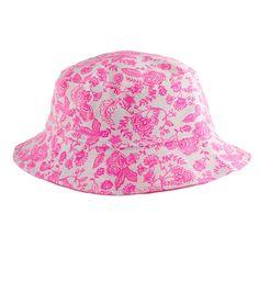Pink Floral Fisherman's Hat