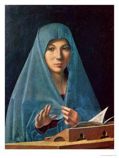 La Vierge de l'Annonciation (en italien : Annunciata di Palermo, Annonciation de Palerme), est un tableau d'Antonello de Messine de la Première Renaissance. Il s'agit d'un des chefs-d'œuvre du peintre réalisé entre 1474 et 1476, et dans lequel il applique le plus haut degré de son art. Le tableau de petit format (45 × 34,5 cm) constitue l'un des trésors de la Galleria Regionale della Sicilia à Palerme, et l'une des plus célèbres de Sicile.