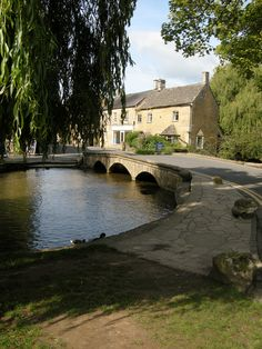 Bourton on the Water, Cotswolds, England,by B Lowe