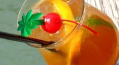 Goombay Smash    Coconut Rum Dark Rum 151 Proof Rum Apricot Brandy Orange Juice Pineapple Juice Fruit Garnish Fill glass with ice. Give a strong pour of coconut rum and dark rum, add apricot brandy and 151