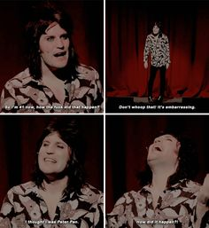 When he expressed how we all feel about growing older. | 22 Times Noel Fielding Was The Most Hilariously Weird Man In Britain