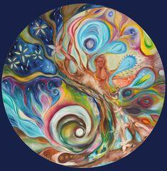 ⊰❁⊱ Mandala ⊰❁⊱ Dentro del  Equilibrio por  Moira Gil