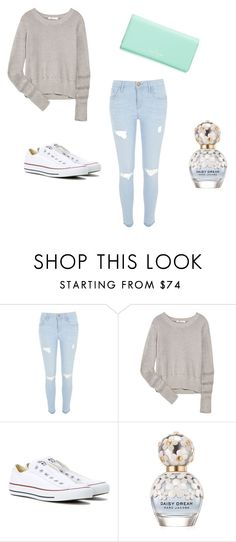 """Winter Days "" by eva-tomasevic ❤ liked on Polyvore featuring River Island, T By Alexander Wang, Converse, Marc Jacobs and Kate Spade"