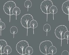 Glimma - Slate Kulla CANVAS by Lotta Jansdotter from Windham Fabrics - 1 yard on Etsy, $12.00