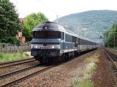 Train and railway north of Lyon, France.  #ToHellAndBack #MariaRosaAuthor #travel #Lyon #France #train #trains #railtravel #railway #transport #EU #Europe