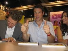 Image result for matthew morrison cory monteith