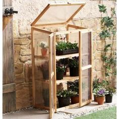 Mini Greenhouse Kit for Indoors or Outdoors - Backyard Landscaping Portable Greenhouse, Backyard Greenhouse, Greenhouse Plans, Backyard Landscaping, Greenhouse Wedding, Cheap Greenhouse, Diy Small Greenhouse, Homemade Greenhouse, Window Boxes
