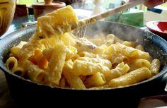 One Pan Fondu Mac n Cheese - The Londoner