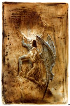 Luis Royo - Fall Angel III
