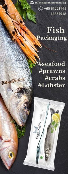 Fresh and frozen #fish And #seafood #Packaging #Solutions.