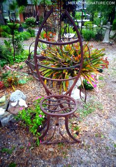 Handmade Iron Furniture Tampa, FL | Metals U0026 Nature | FU 002 L